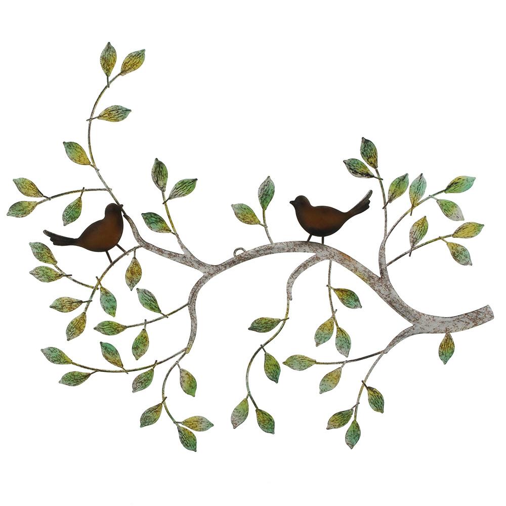 """Настенное украшение """"Птички на ветке"""""""