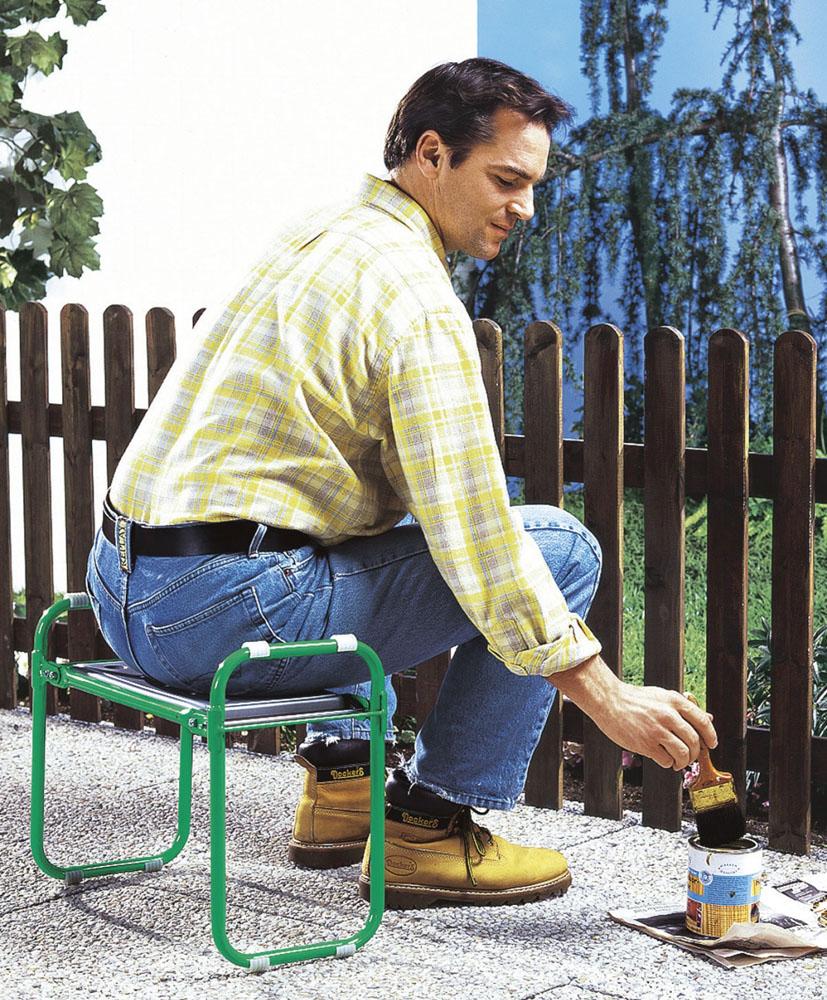 Табурет для работы в саду
