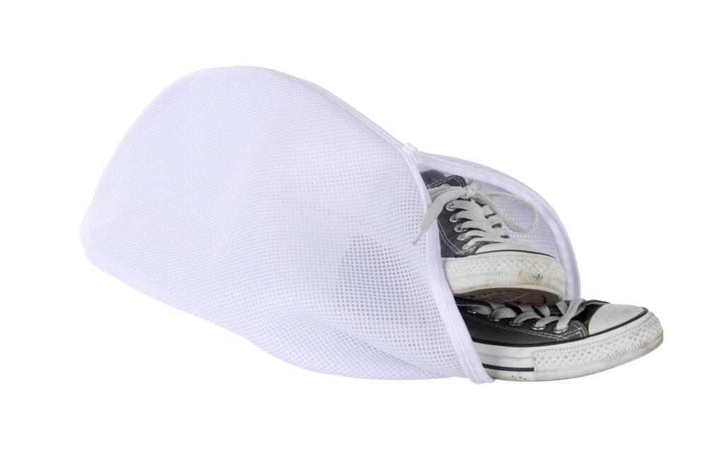 Чехол для стирки обуви, белый
