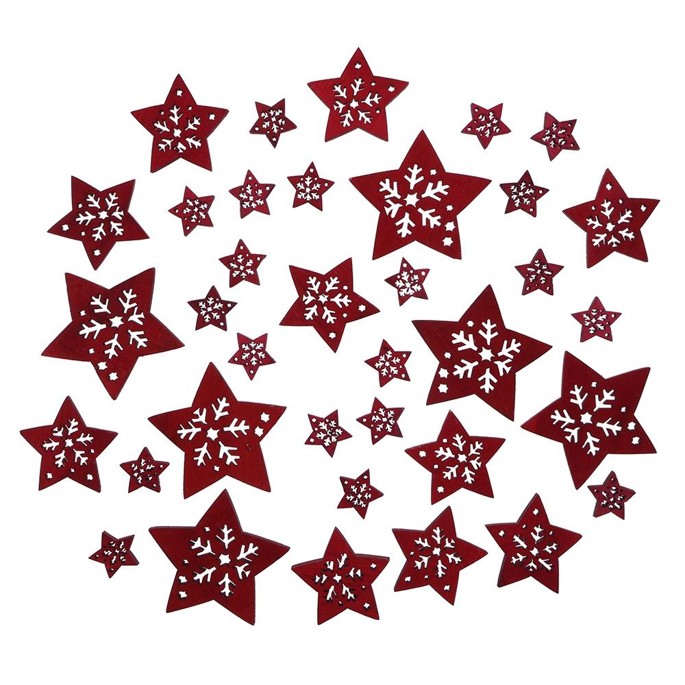 """Декоративные фигурки """"Волшебство звезд"""", 36шт"""