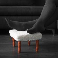 Табурет-подставка для ног с мягкой обивкой