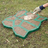 D.i.Y. Лекало камней для выкладывания дорожек, зеленый