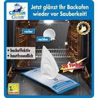 Салфетки для очищения духовки Captain Clean,  20шт [06242] в магазине Интернет-магазин Хит