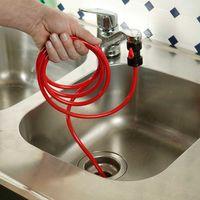 Приспособление для чистки труб с вентилем обратного хода [06245],