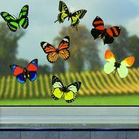 Декоративные наклейки бабочки 3D, 12шт [06287] в магазине Интернет-магазин Хит