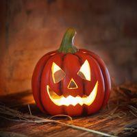 """Подсвечник в форме тыквы """"Хэллоуин"""""""