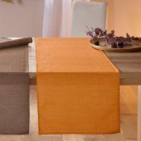 """Дорожка на стол """"Блестящая оранжевая"""""""