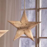 """Подвесная декоративная фигура """"Звезда"""", диаметр 39 см"""