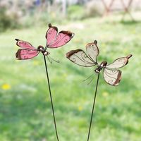 """Декоративные штекеры """"Бабочки"""", 2 штуки [06628],"""