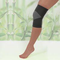 Бандаж на колено с бамбуковым углем, размер S/М [06729],