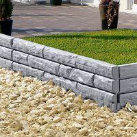 """Ограничители для сада """"Каменная стена"""", 5 штук [06683],"""