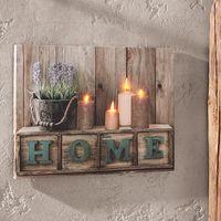 """Панно со светодиодной подсветкой """"HOME"""" [06821],"""