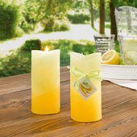 """Свечи ароматические """"Лимон"""", 2 штуки [06852],"""