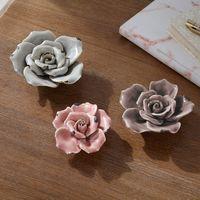 """Декоративные фигуры """"Розы"""", 3 штуки [06868],"""