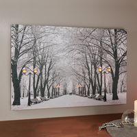 "Картина со светодиодной подсветкой ""Зимний парк"" [07016],"