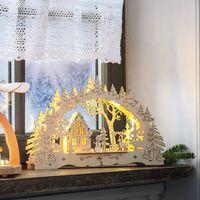 """Декоративное украшение со светодиодной подсветкой """"Зима"""" [07056],"""