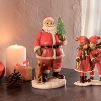 """Декоративная фигура """"Санта Клаус с елкой"""" [07079],"""