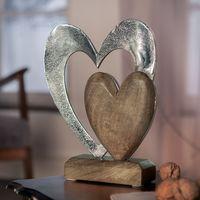 """Декоративная фигура """"Сердце в сердце"""" [07080],"""