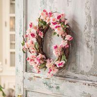 """Декоративный венок """"Цветы вишни"""" [07185],"""