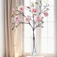 """Декоративные цветы """"Веточки магнолии"""", 2 штуки [07196],"""
