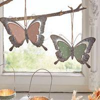 """Подвесные украшения """"Бабочки - романтичное настроение"""", 2 штуки [07208],"""