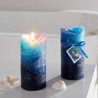 "Свечи ароматические ""Океан"", 2 штуки [07218],"