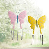 """Подвесные украшения """"Бабочки - игра ветра"""", 2 штуки [07233],"""