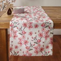 """Дорожка на стол """"Цветение вишни"""" [07326],"""