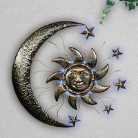"""Настенное украшение """"Солнце и луна"""", с подсветкой [07346],"""