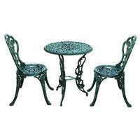 """Набор садовой мебели """"Бистро"""", 3 предмета, зеленый [07360],"""