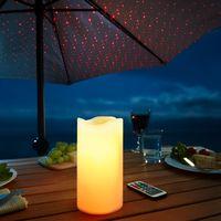 Светодиодная лазерная свеча [07512],