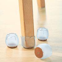 Защитные колпачки для ножек стульев, средние, 4 штуки [07519],