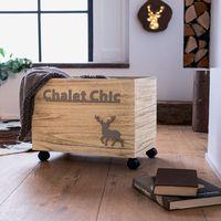 "Бокс для хранения ""Chalet Chic"" на роликах [07570],"