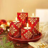 """Набор с подсвечниками """"Рождественская мечта"""", 5 частей [07601],"""