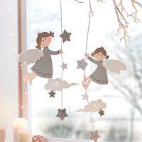 """Подвесные украшения """"Ангелы на облаках"""", 2 штуки [07631],"""