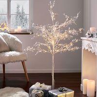 """Декоративное дерево со светодиодами """"Блеск серебра"""" [07640],"""