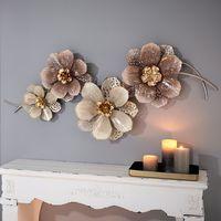 """Настенное украшение """"Цветы"""" [07643],"""