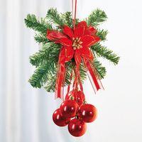 """Подвесное украшение""""Праздничное приветствие"""", красный [07725],"""