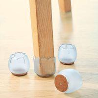 Защитные насадки на ножки стула, 4 штуки [07732],