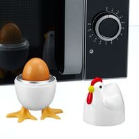 """Приспособление для варки яиц в микроволновой печи """"Курочка"""" для 1 яйца [07762],"""
