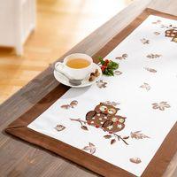 """Дорожка на стол """"Сова"""", 90 х 40 см [07801],"""