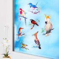 """Наклейки на окна """"Парад птиц"""", 25 шт. [07888],"""