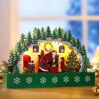 """Декоративный светильник со светодиодными огнями """"Праздник Рождества"""" [07933],"""