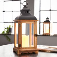 """Фонарь - светодиодный светильник """"Wood"""" [07973],"""
