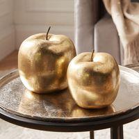 """Декоративные фигуры """"Яблочки - золото"""", 2 штуки [08044],"""