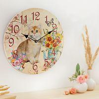 """Настенные часы """"Кошечка Минка"""" [08505],"""