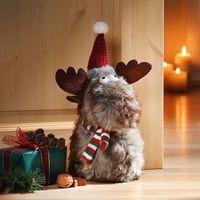 """Декоративный стоппер для двери """"Рождественский олень"""" [08540],"""