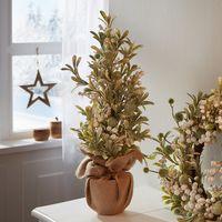"""Декоративное растение """"Деревце омела с перламутровыми ягодами"""" [08555],"""