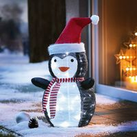 """Декоративная фигура с LED подсветкой """"Пингвин"""" [08594],"""