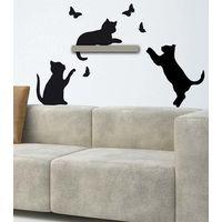 """Наклейки настенные """"Игра кошек"""" [02312] в магазине Интернет-магазин Хит"""